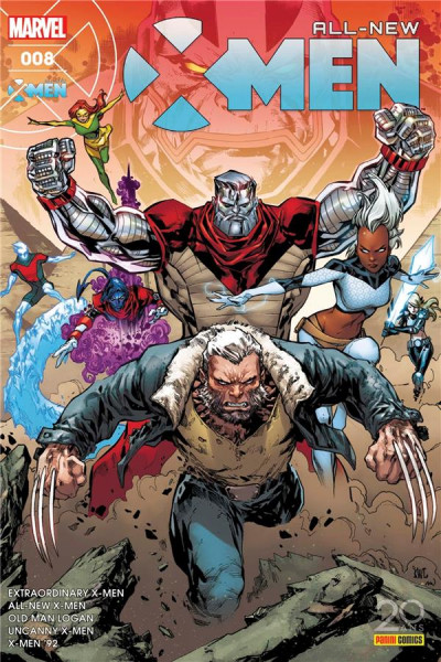 Couverture All-New X-Men tome 8