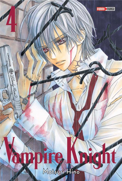 Couverture Vampire knight - édition double tome 4