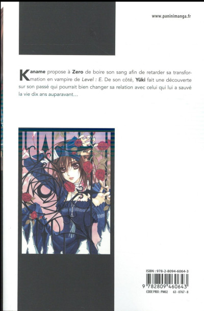 Dos Vampire knight - édition double tome 4