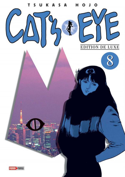 Couverture Cat's eye - édition 2016 tome 8
