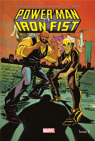 Couverture Power man et Iron Fist tome 2