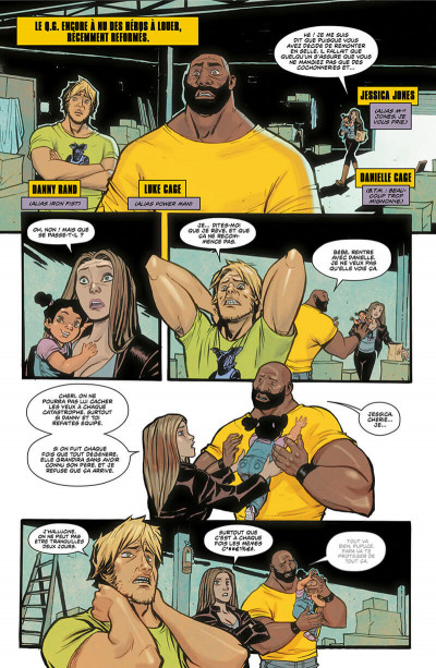 Page 6 Power man et Iron Fist tome 2