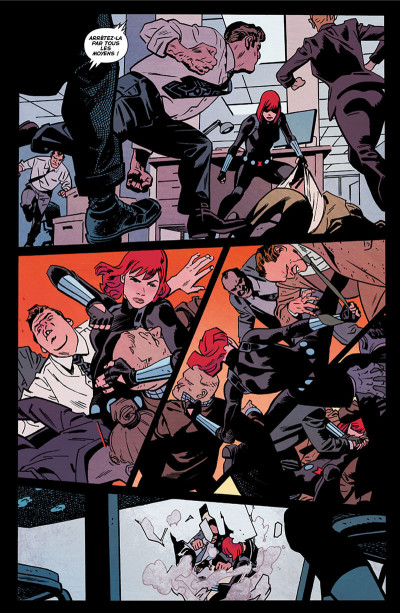 Page 7 Black Widow - All-new all-different tome 1