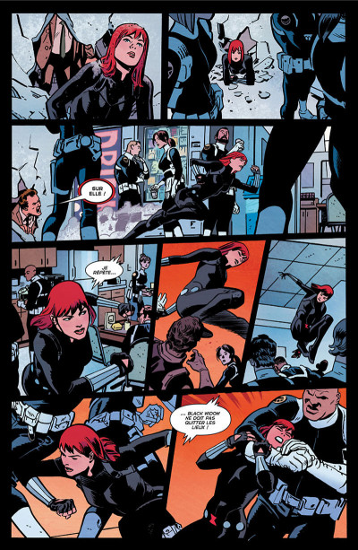Page 8 Black Widow - All-new all-different tome 1