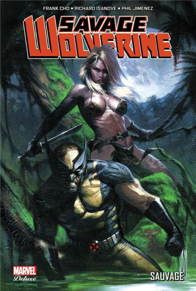 Couverture Savage Wolverine