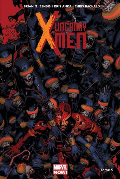 Couverture Uncanny X-Men tome 5