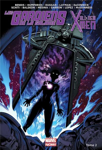 Couverture All New X-Men/ Les gardiens de la galaxie tome 2