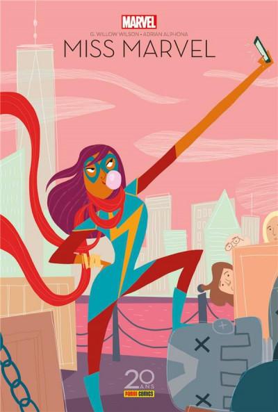 Couverture Ms. Marvel tome 1 - édition 20 ans