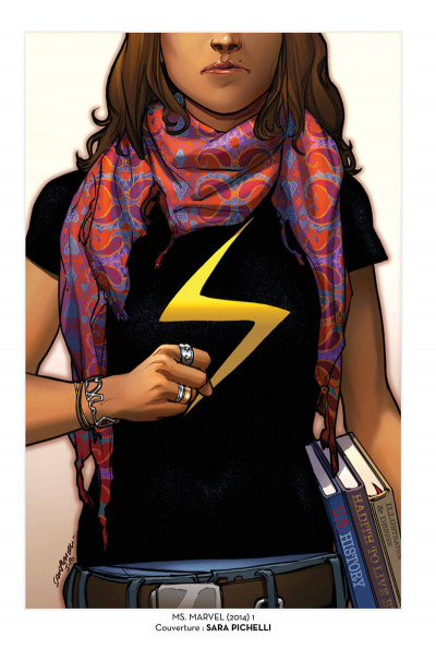 Page 5 Ms. Marvel tome 1 - édition 20 ans
