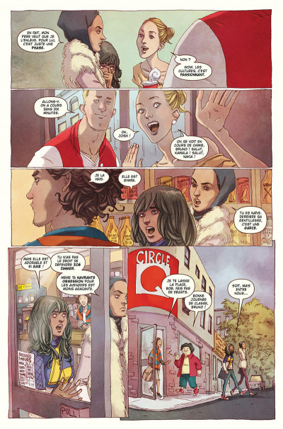 Page 8 Ms. Marvel tome 1 - édition 20 ans