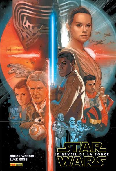 Couverture Star wars : le réveil de la force