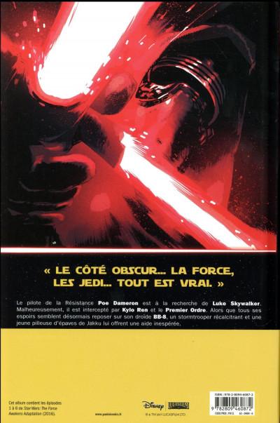 Dos Star wars : le réveil de la force
