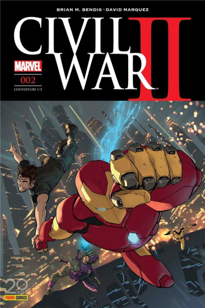 Couverture Civil War II tome 2 - cover 1/2