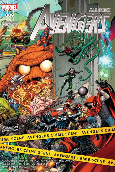 Couverture All-New Avengers tome 9