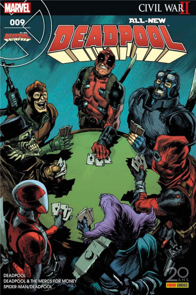 Couverture All-New Deadpool tome 9