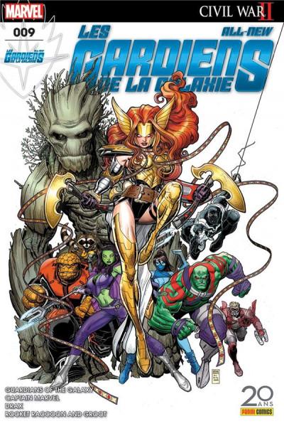 Couverture All-New Les Gardiens de la galaxie tome 9