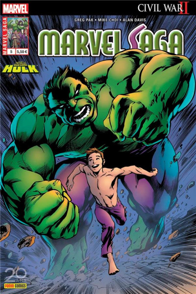 Couverture Marvel saga tome 5