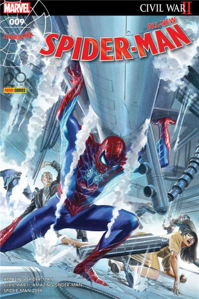Couverture All-New Spider-Man tome 9