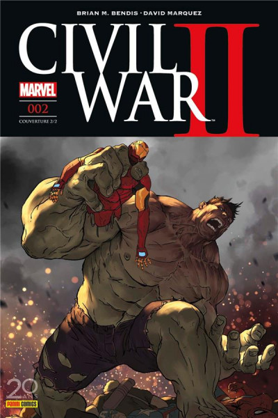 Couverture Civil War II tome 2  - cover 2/2