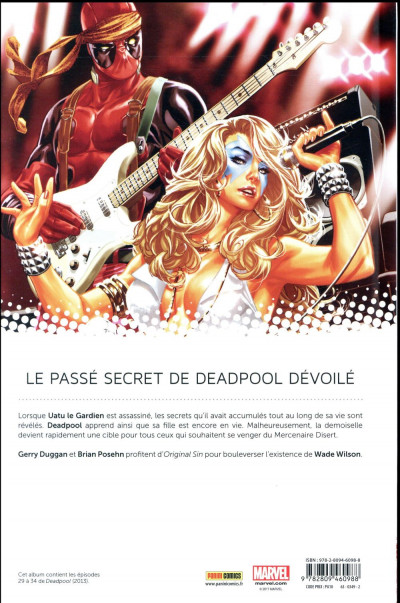 Dos Deadpool tome 6