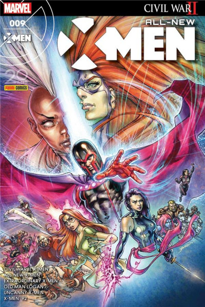 Couverture All-New X-Men tome 9