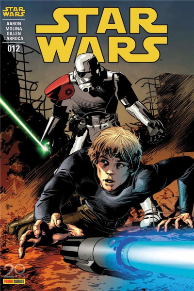 Couverture Star Wars fascicule tome 12 - cover 1/2
