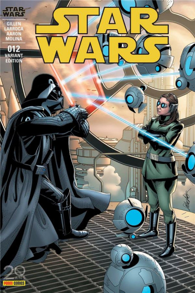 Couverture Star Wars fascicule tome 12 - cover 2/2