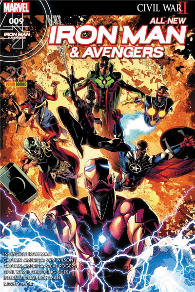 Couverture All-New Iron Man & Avengers tome 9