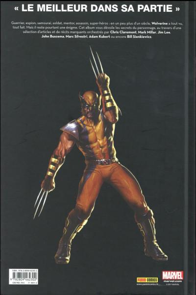 Dos Je suis Wolverine