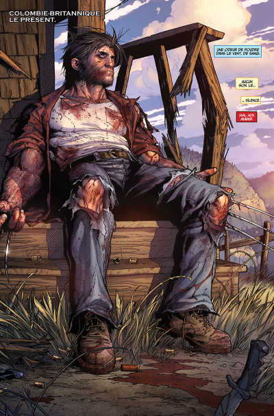 Page 9 La mort de Wolverine