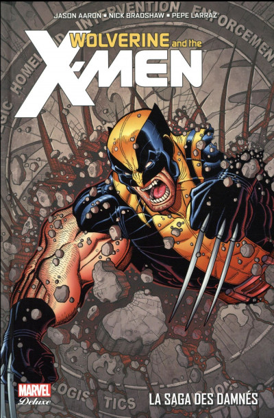 Couverture Wolverine et les X-Men tome 4