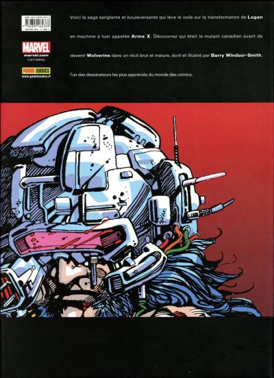 Dos Wolverine - L'arme X