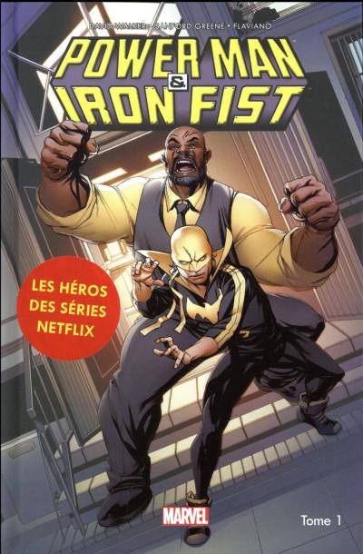 Couverture Power Man et Iron Fist tome 1