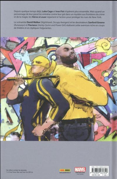 Dos Power Man et Iron Fist tome 1