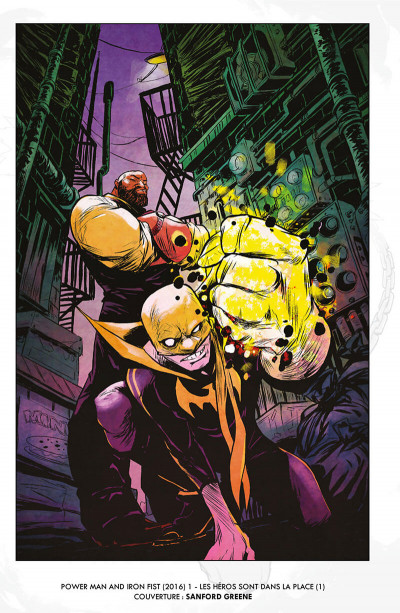 Page 5 Power Man et Iron Fist tome 1