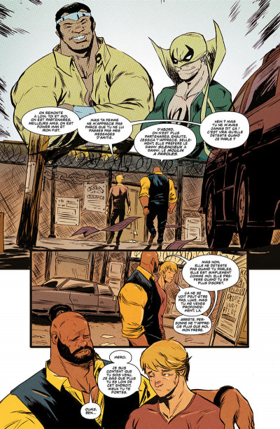 Page 7 Power Man et Iron Fist tome 1