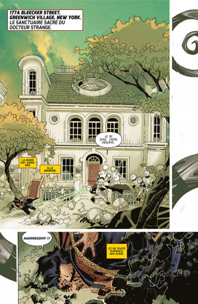 Page 9 Doctor Strange tome 2