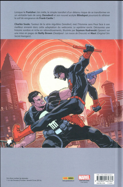Dos Daredevil et Punisher tome 1