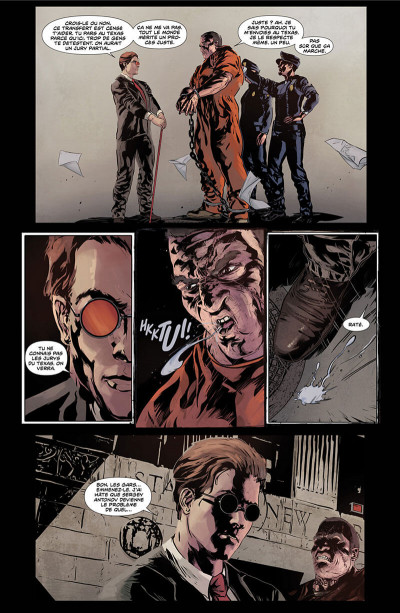 Page 7 Daredevil et Punisher tome 1