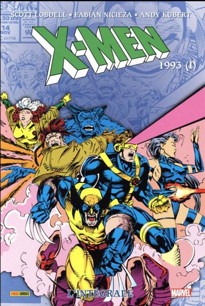 Couverture X-men - intégrale tome 32