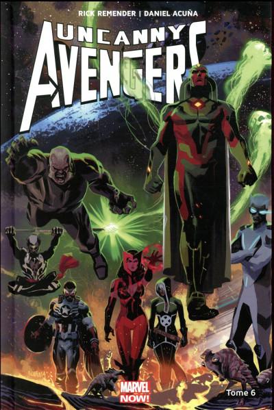 Couverture Uncanny Avengers tome 6