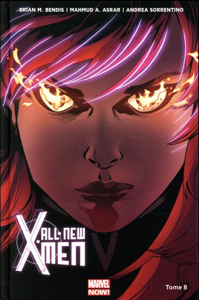Couverture All New X-Men tome 8