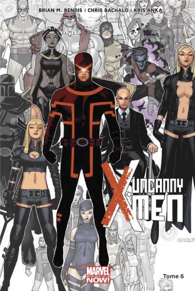 Couverture Uncanny X-men tome 6