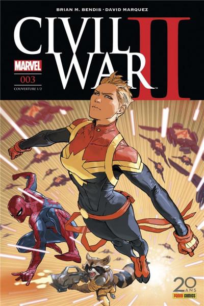 Couverture Civil War II tome 3 - cover 1/2
