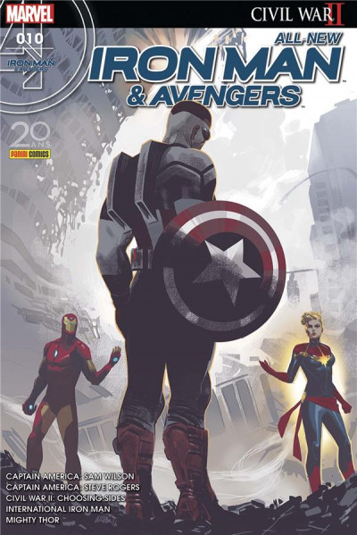 Couverture All-New Iron Man & Avengers tome 10
