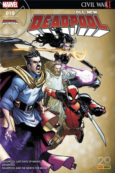 Couverture All-New Deadpool tome 10