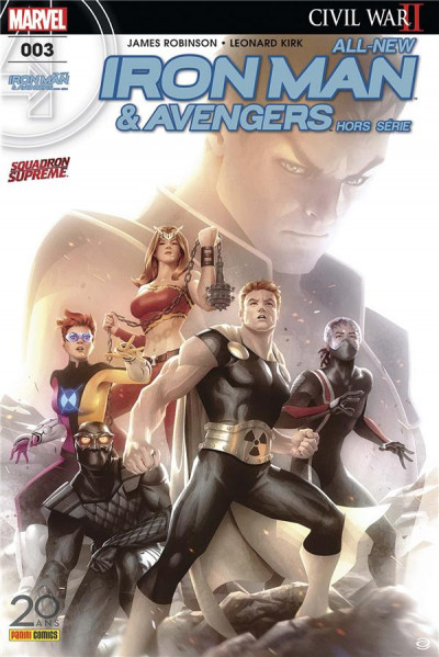 Couverture All-New Iron Man & Avengers HS tome 3