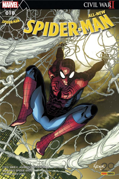 Couverture All-New Spider-Man tome 10