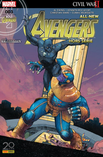 Couverture All-New Avengers HS tome 3