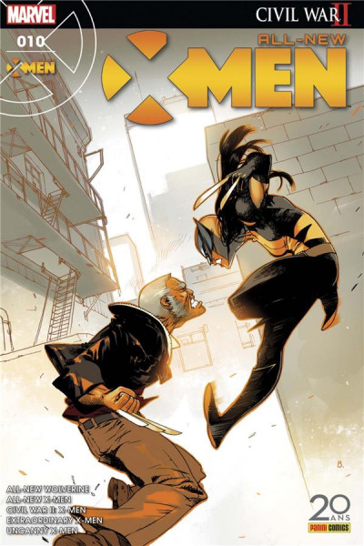 Couverture All-New X-Men tome 10